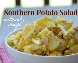 Potato Salad without Mayo from 100 Days of #RealFood