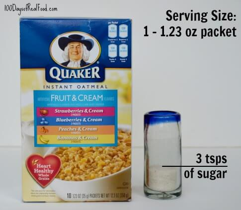 oatmeal packets