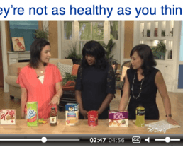 """Video: 7 """"Healthy"""" Foods – That Really Aren't"""