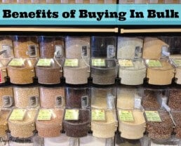 Why I Buy in Bulk and Why You Should Too