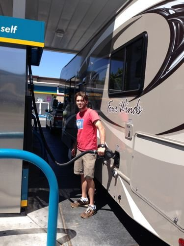 Real Food on the Road: #RV Trip on 100 Days of #RealFood
