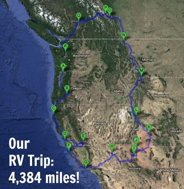 Real Food On The Road RV Trip 100 Days of Real Food – Rv Travel Maps