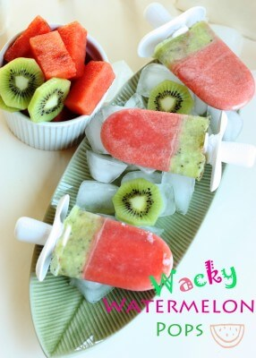 5 Favorite Summer Snacks from Super Healthy Kids (Watermelon Pops) at 100 Days of #RealFood