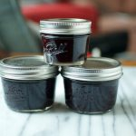 Small Batch Blueberry Honey Jam on 100 Days of #RealFood