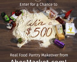 Giveaway: A $500 Real Pantry Makeover from Abe's Market