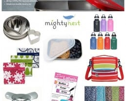 School Lunch Packing Tips + $250 in Lunch Gear from MightyNest!