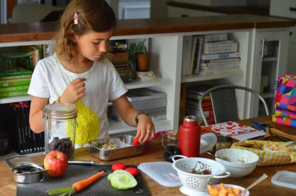 Real Food Lunches with MightNest on 100 Days of #RealFood