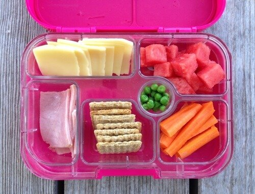 Homemade Lunchable #SchoolLunch on 100 Days of #RealFood