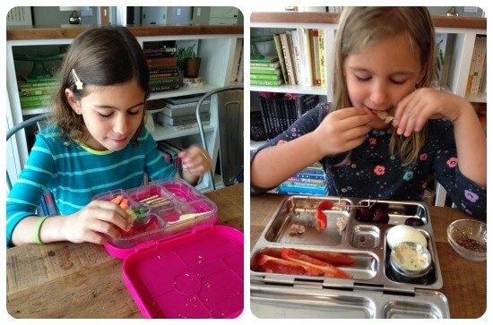 Homemade #SchoolLunches on 100 Days of #RealFood