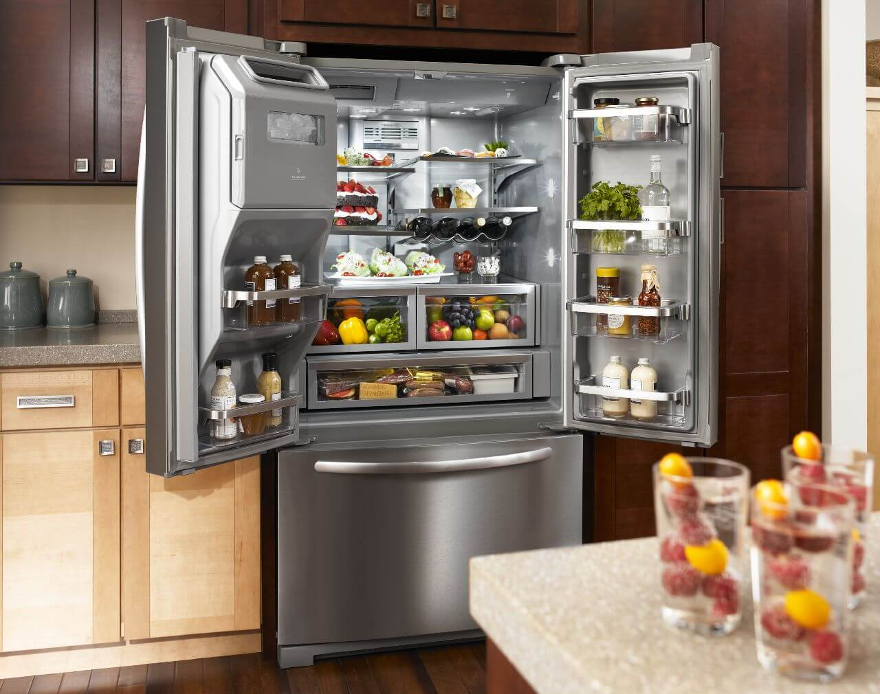 Elegant ... Giveaway Kitchenaid Refrigerator Worth Over 3 000 100 Days Of Real Food  ...