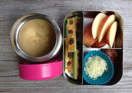Slow Cooker Potato Soup #SchoolLunch on 100 Days of #RealFood