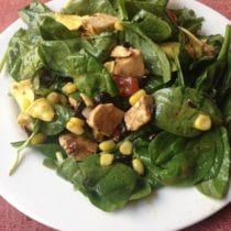 Chicken Taco Salad on 100 Days of #RealFood