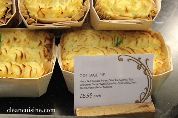 Clean Cuisine Cottage Pie (A British Food Makeover) at 100 Days of #RealFood