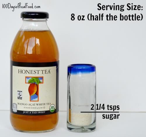 Organic Tea on 100 Days of #RealFood