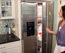 Refrigerator tour from 100 Days of #RealFood