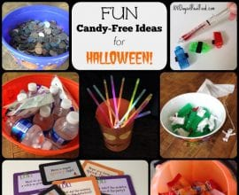 Candy-Free Ideas for Trick or Treaters on 100 Days of #RealFood