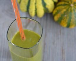 Recipe: Pumpkin Pie Green Smoothie!