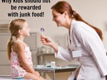Why kids should not be rewarded with junk food on 100 Days of #RealFood