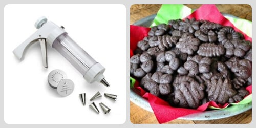 Cookie Press - #Stocking Stuffers on 100 Days of #RealFood