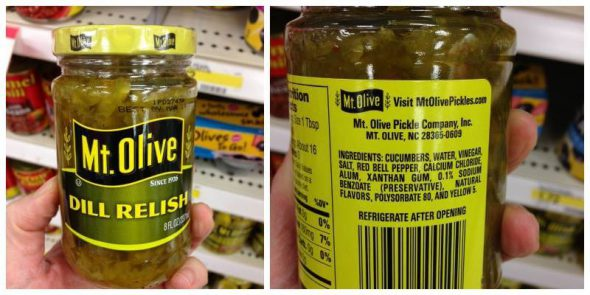 Dill Relish: Misleading Product Roundup IV on 100 Days of #RealFood