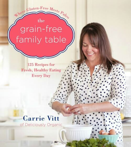 Grain-Free Family Table Cookbook Cover on 100 Days of #RealFood
