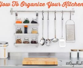 How To Organize Your Kitchen on 100 Days of #RealFood