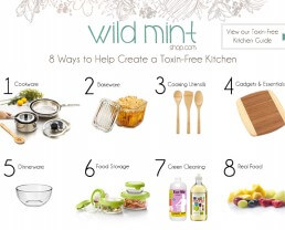 Giveaway: Gift Cards to Wild Mint for a Toxin Free Kitchen!