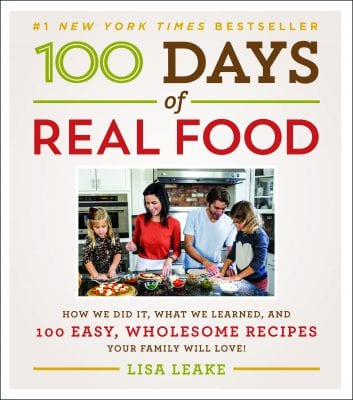 Cookbook #Stocking Stuffer on 100 Days of #RealFood
