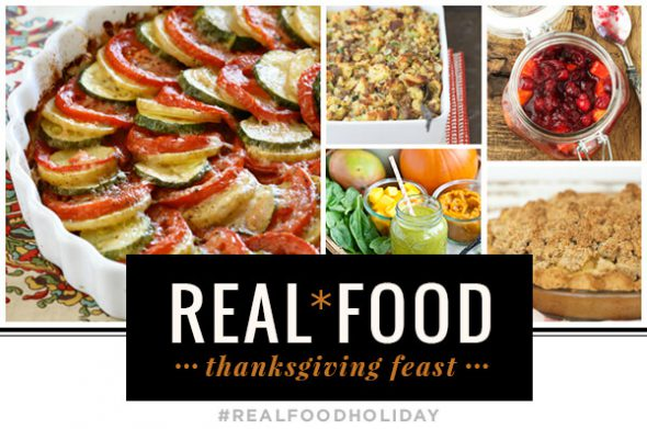 Pumpkin Cheesecake & Other Holiday Recipes on 100 Days of #RealFood #Thanksgiving #pumpkin