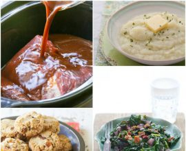 The Grain-Free Family Table Collage on 100 Days of #RealFood