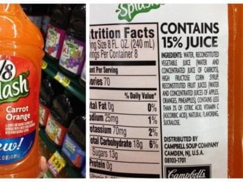 Misleading Product Roundup on 100 Days of #RealFood