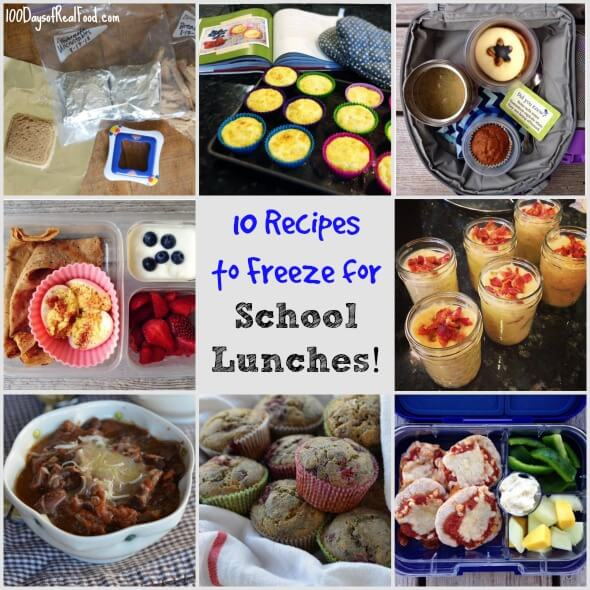 Real food tips 10 more recipes to freeze for school lunches 100 10 recipes to freeze for schoollunches on 100 days of realfood forumfinder Choice Image
