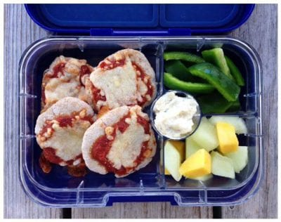 10 Recipes to Freeze for #SchoolLunches (Homemade Pizza) on 100 Days of #RealFood