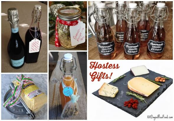 Hostess Gifts on - 100 Days of #RealFood & Real Food Tips: 10 Unique Hostess Gifts