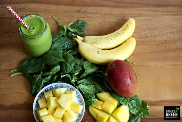 Top Recipes and Posts of 2014 (How to Make a Perfect Green Smoothie) on 100 Days of #RealFood