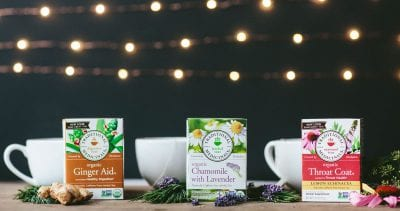 Traditional Medicinals tea on 100 Days of #RealFood