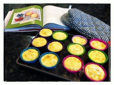 10 Recipes to Freeze for #SchoolLunches (Lunchbox Quiches) on 100 Days of #RealFood