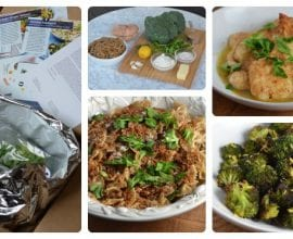 Blue Apron Meal on 100 Days of #RealFood