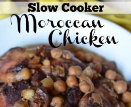 Slow Cooker Moroccan Chicken on 100 Days of #RealFood