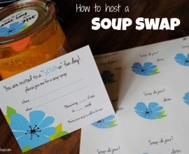 How to host a soup swap on 100 Days of #RealFood