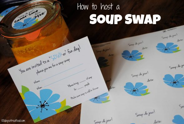 how to host a soup swap