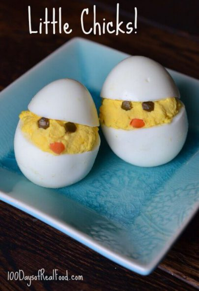 Little Chicks on 100 Days of #RealFood