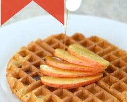 Fluffy Applesauce Waffle Recipe