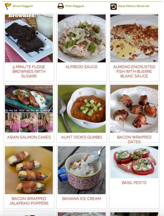 New Recipe Search on 100 Days of #RealFood