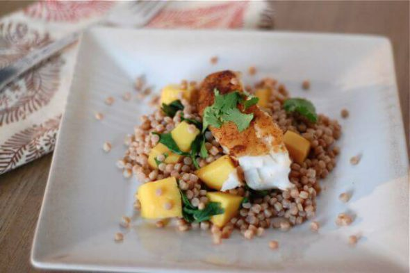 Moroccan Fish on 100 Days of #RealFood