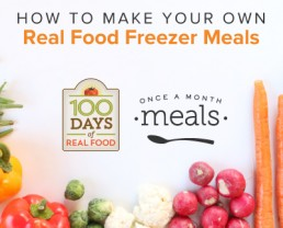 Why You Should Make Your Own Wholesome Freezer Meals
