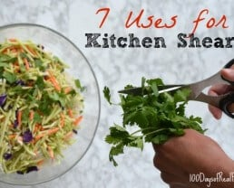 Real Food Tips: 7 Uses for Kitchen Shears