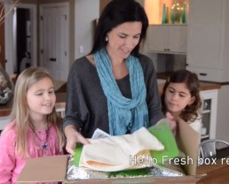 HelloFresh Box Reveal on 100 Days of #RealFood