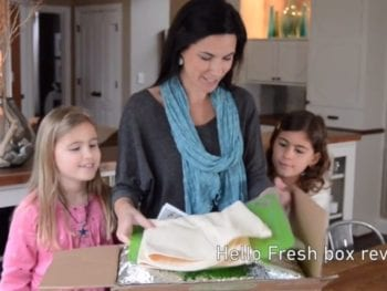 HelloFresh Box Reveal on 100 Days of RealFood 350x263 - Giveaway: HelloFresh Meal Delivery Service