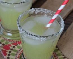 Honey Dew Margaritas on 100 Days of #RealFood
